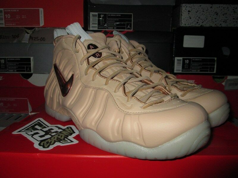 NEW Nike Air Foamposite Pro PRM AS All Star QS Vachetta Tan Rose Gold 920377 200 best-selling model of the brand