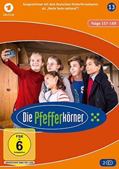 Die Pfefferkörner Staffel 13 (Folge 157-169) NEU OVP 2 DVDs