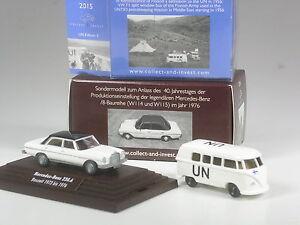 NEU-Wiking-C-amp-I-SoMo-Konvolut-J-Mercedes-230-6-8-zweifarbig-VW-T1-UN