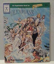 Hero Games, The OLYMPIANS RPG Game manual VG+ Vintage..(C6B5)
