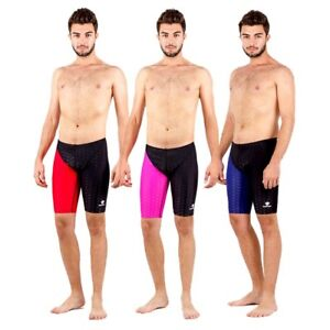 15793f539a4c1 Image is loading Men-Boys-Racing-Jammers-Swimwear-Swimsuit-Competition-Swim-