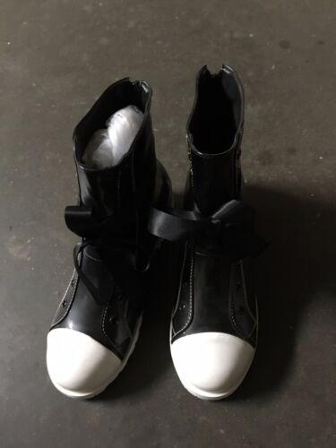 Final Fantasy VII Advent Children Tifa Lockhart Shoes Cosplay Boots 23.5CM