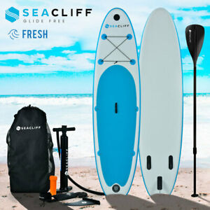 SEACLIFF 10ft Stand Up Paddle Board SUP Paddleboard Inflatable Standing 300cm