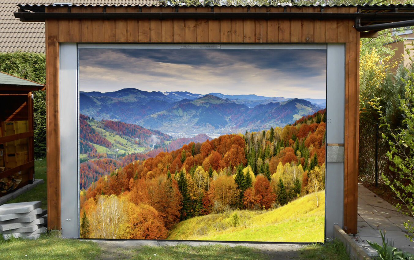 3D 3D 3D Gelb Woods77 Garage Door Murals Wall Print Decal Wall AJ WALLPAPER AU Carly 70941a
