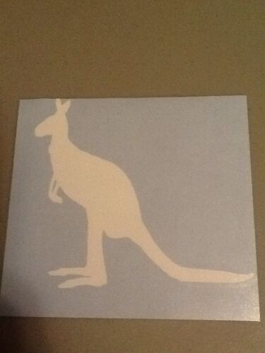 Kangaroo Vinyl Die Cut Decal,window,car,truck,laptop,funny,iPad,Australia,zoo