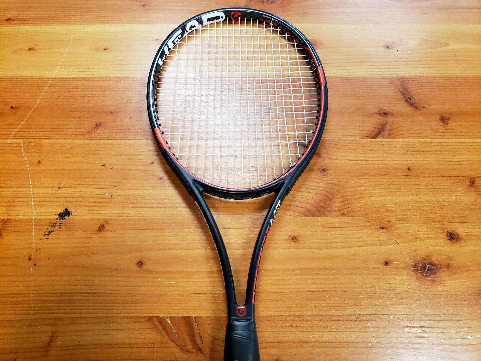 Head Graphene XT Prestige MP Preowned Tennis Racquet Grip Size 4_3 8