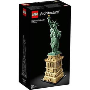 Lego Architecture Statue De La Liberté 21042 Ensemble De Construction (1685 Pièces)