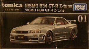 Takara-Tomy-TOMICA-PREMIUM-01-Nissan-Nismo-Skyline-GTR-Z-TUNE-1-62-DIECAST-CAR