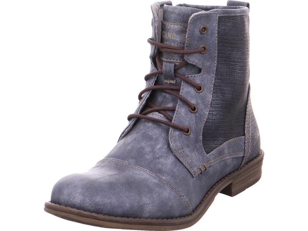 Mustang  da  Stiefel blau,Gli stivali da  donna classici sono popolari, economici e hanno dimensioni 8070df
