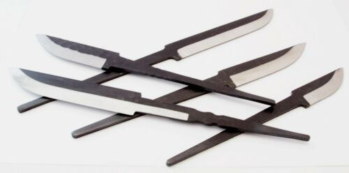 COLTELLI lame e sbozzi originali NANUS Acciaio al Carbonio Vari Modelli *