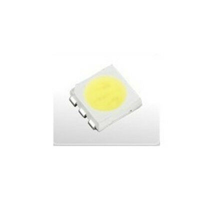 100 pcs PLCC-6 5050 SMD 3-CHIPS white Ultra bright LED