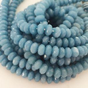 fashion-Faceted-Brazilian-Aquamarine-Gemstone-Rondelle-Loose-Beads-15-034-AAA