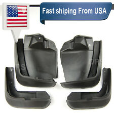 OE Front Rear set 4 Pcs Fender Splash Mud Guards Flaps For 12-15 Honda Civic 4D