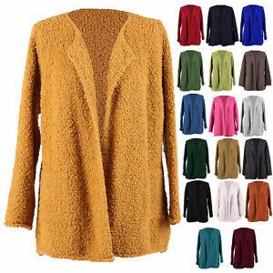 Womens-Italian-Boucle-Knit-Alpaca-Wool-Warm-Waterfall-Ladies-Coatigan-Jacket