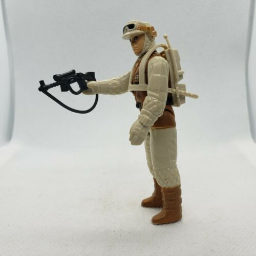 Vintage 1980 Star Wars Hoth Rebel Soldier Combat Sac à dos et Rebel fusil norepo
