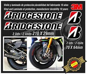 Stickers-adhesivos-pegatinas-adesivi-autocollants-Fender-Bridgestone-MOTOGP-NEW