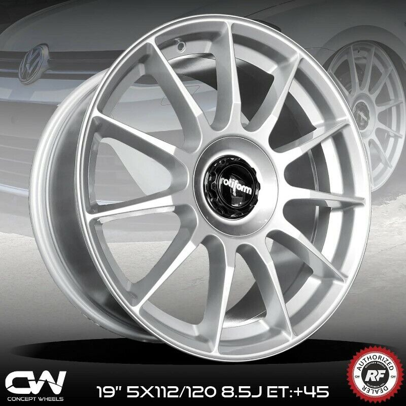 CONCEPT WHEELS 19 INCH ORIGINAL ROTIFORM RIMS NOW IN STOCK PCD 5/112 TO FIT AUDI,GOLF 5/6/7