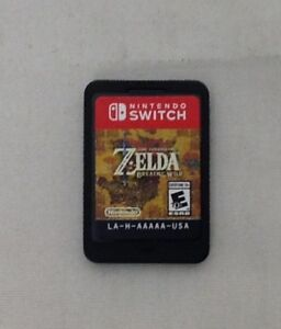 Details about Legend of Zelda: Breath of the Wild (Nintendo Switch, 2017)  (Game Only)