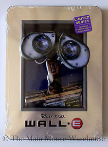 Disney-Pixar-Wall-E-Wall-E-Wall-E-on-DVD-in-Real-3D-Collectible-Tin-Packaging