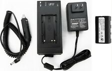 Battery & Home & Car Charger for Leica Total Station, Laser, Receivers Surveying