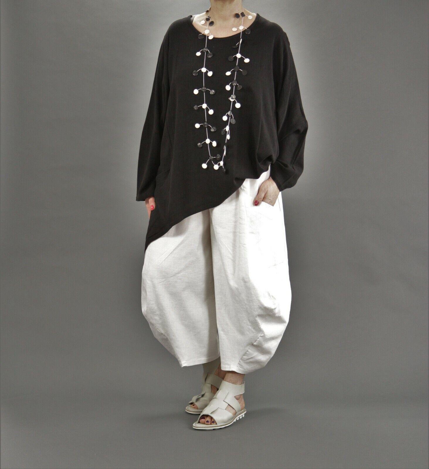 ♦ AKH fashion ballon-Pantalon CE 44,46,48,50,52,54,56 coton lin ♦