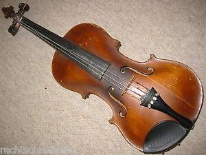 """Ancien Violon """"jillmann Morchenstern 1895"""" Old Violin X-afficher Le Titre D'origine Et D'Avoir Une Longue Vie."""