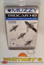 "Muzzy Trocar Hybrid 100 Gr., 4 Blade, 2 ⅝"" Cutting Surface-297"