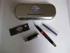 "Harley Davidson Waterman ""Freewheel"" Fountain Pen w/ Cartridge"