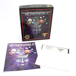 Netherworld-for-PC-by-United-Software-1990-CIB-VGC-Arcade-Big-Box