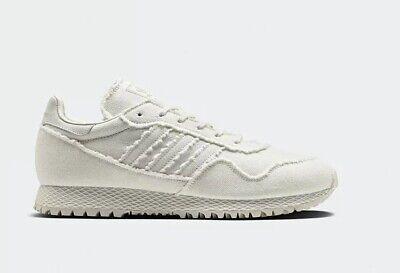 TRS * Adidas Junior Originals New York x Daniel Arsham Baskets Blanc Taille UK 5   eBay