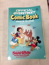 Official Overstreet Comic Book Price Guide #17 1987 Snow White 50th Anniversary