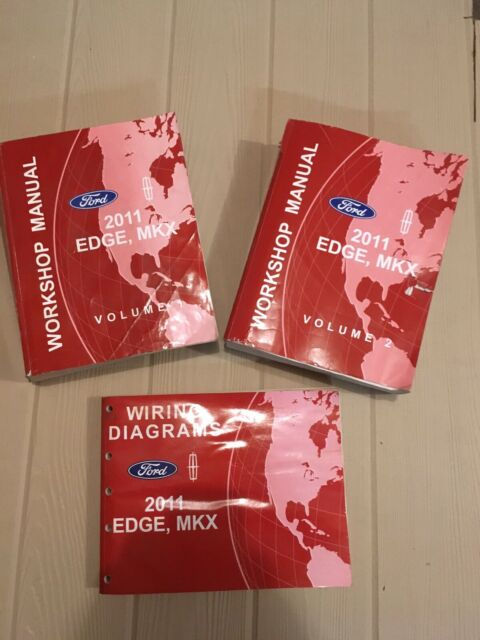 2011 Ford Edge Lincoln Mkx Service Manuals Vol 1 U00262 Wiring Diagrams