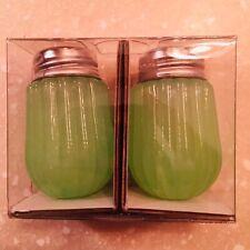 Hearth /& Hand Magnolia PINK Milk Glass Salt /& Pepper Shaker 2 Pc Set Spring NWT