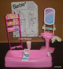 FURNITURE PLAYSET MATTEL BARBIE VINTAGE 1995 SO MUCH TO DO BATHROOM PLAYSET 1301