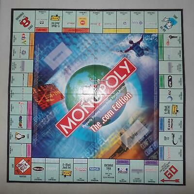 Monopoly .Com Edition Game Replacement Pieces Parts 2000 Hasbro Free Shipping