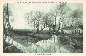 All-More-Fine-Landscapes-of-La-Vendee-Maraichine-Evening-of-Spring