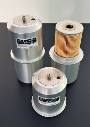 Ford V8 ZS1 Oil Filter Kit as fitted to Land Rover Series One Bedford trucks.