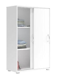 Schrank weiß schiebetüren  Kleider-Schrank Nexty - Weiß, Schiebetüren Schlafzimmer Kommode ...