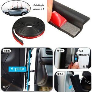 4M 160/'/' Z Shape Window Door Rubber Seal Strip Hollow Weatherstrip For Car Auto