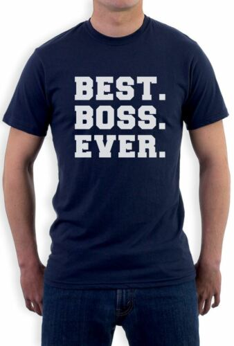 Best BOSS Ever Christmas Gift Idea for Your Boss T-Shirt From Workers