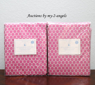 Two Pottery Barn Kids Mini Dot Luxe Jacquard Blackout