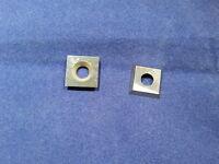 Ci1 Carbide Insert Cutter Wood Fits Easy Wood Tools15mmx15mm X2/50mm Radius