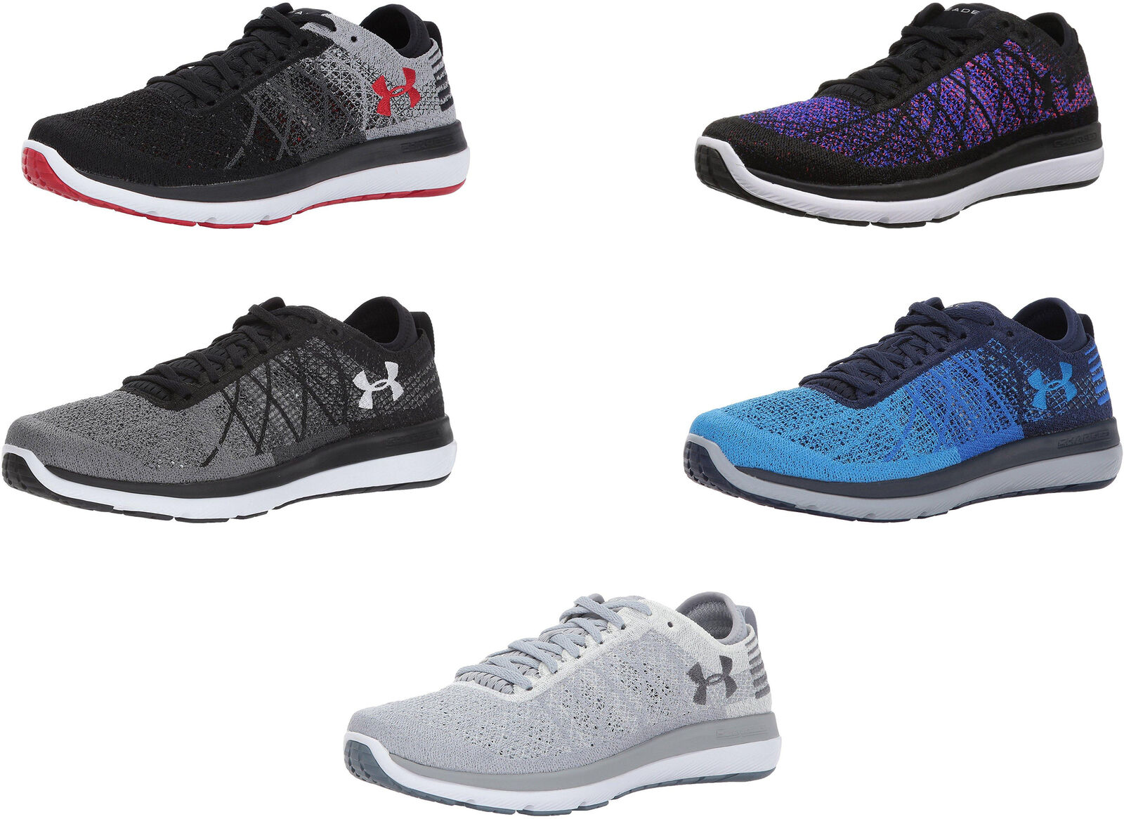 best sneakers 67615 4c1af Details about Under Armour Men's Threadborne Fortis Shoes, 5 Colors