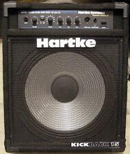 "Hartke KickBack 15 HA1200 120-Watt 1x15"" Solid-Sate Bass Guitar Combo Amplifier"