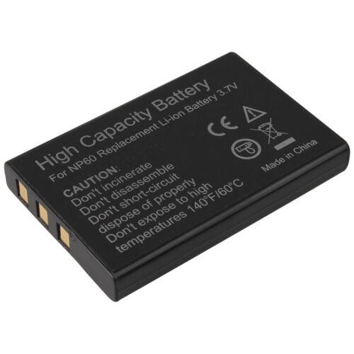 Power batería np-60 np60 para Fuji FinePix Aldi Traveler!