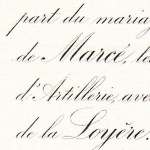 Gabriel-De-Marce-Vaumenaize-Thizay-32e-Artillerie-1888-De-La-Loyere