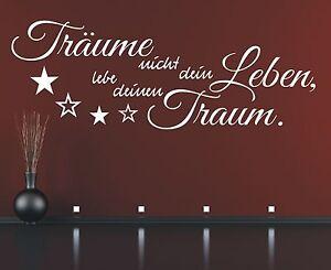 Wandtattoo-Spruch-Traeume-nicht-dein-Leben-Lebe-deinen-Traum-Wandaufkleber