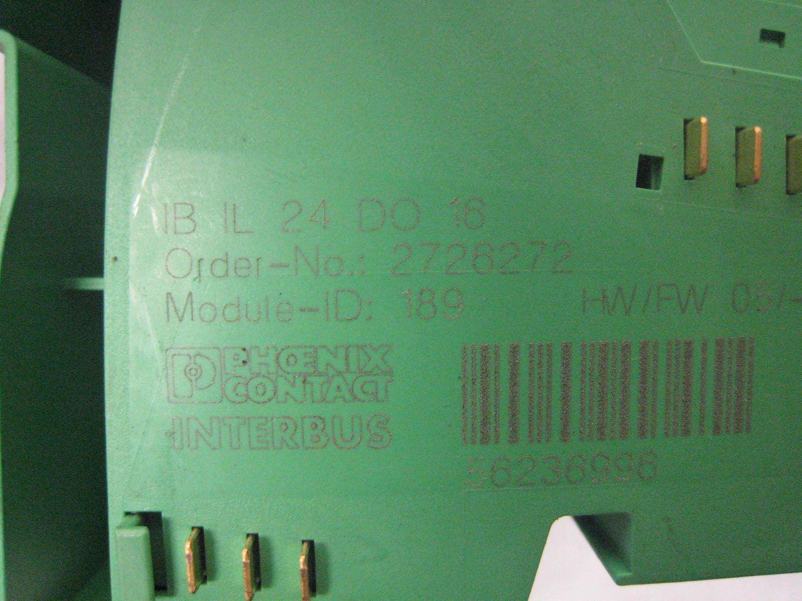 Phoenix contact IB il do 16 inline-borna-Order nº 2726272 #