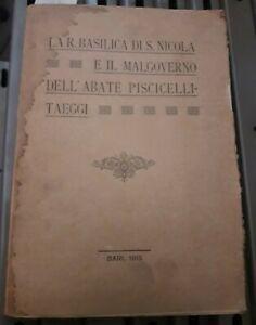 1915 - BARI - SAGGIO STORICO ARTISTICO