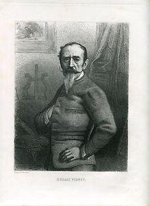 Retrato-Horace-Vernet-Drew-and-Recorded-Masson-1890